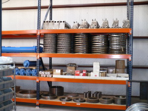 Fitz Equipment Warehouse Inventory 1