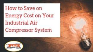 Industrial Air Compressor Energy Savings