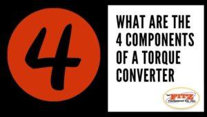 Industrial Torque Converter Parts