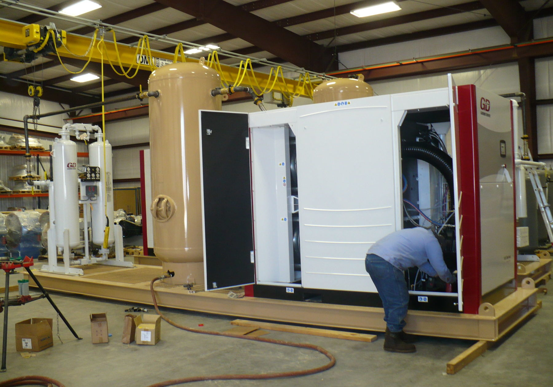 Gardner Denver Air Compressor Remanufacturing & Repair
